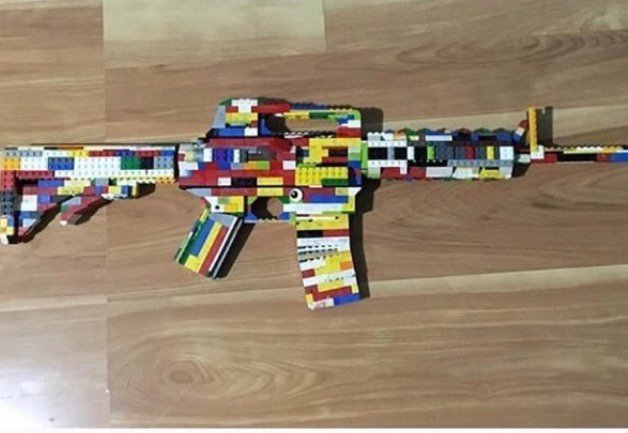 Instagram image of Lego assault rifle, threat lead to 14-year-old's ...