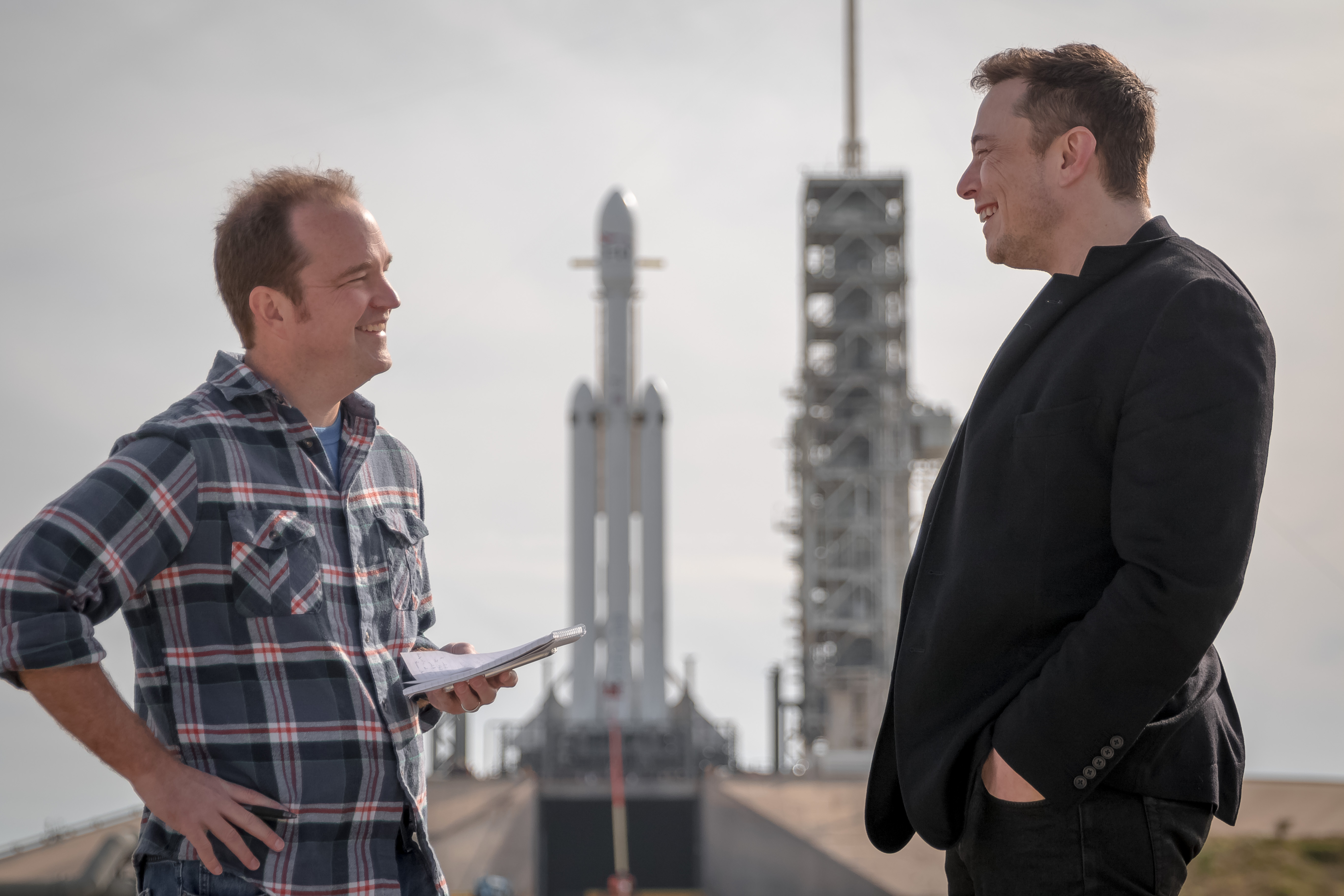 Just two guys talking rockets back in 2018 before something called <a href=