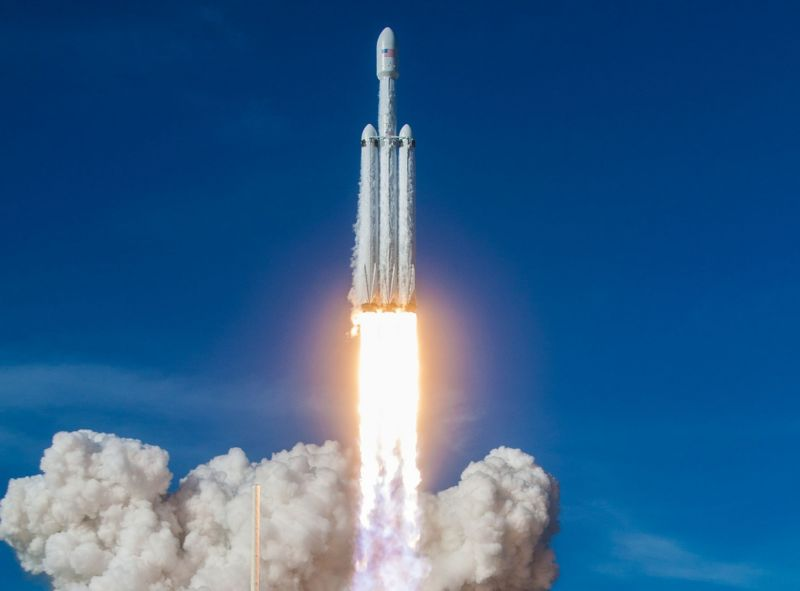 This maiden flight of the Falcon Heavy was a success.