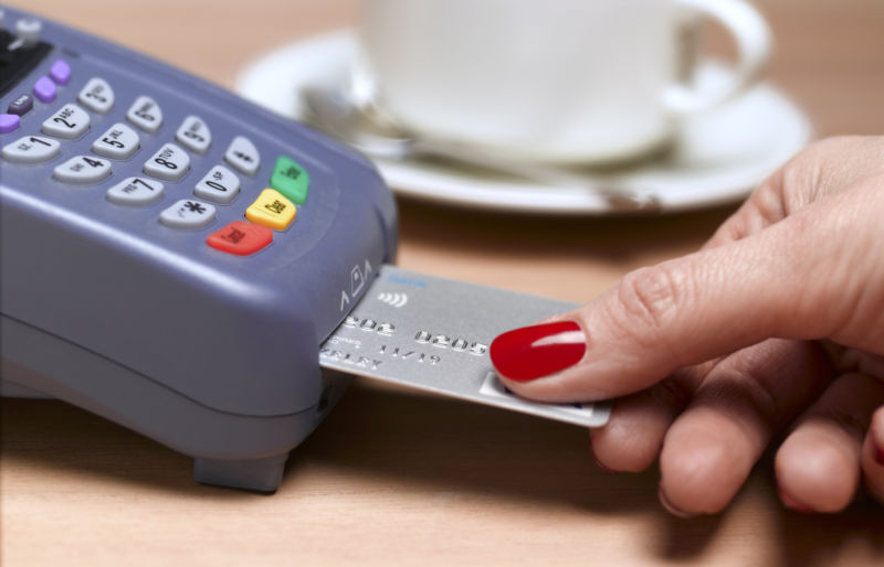 What happened after the US moved to chip-embedded payment
