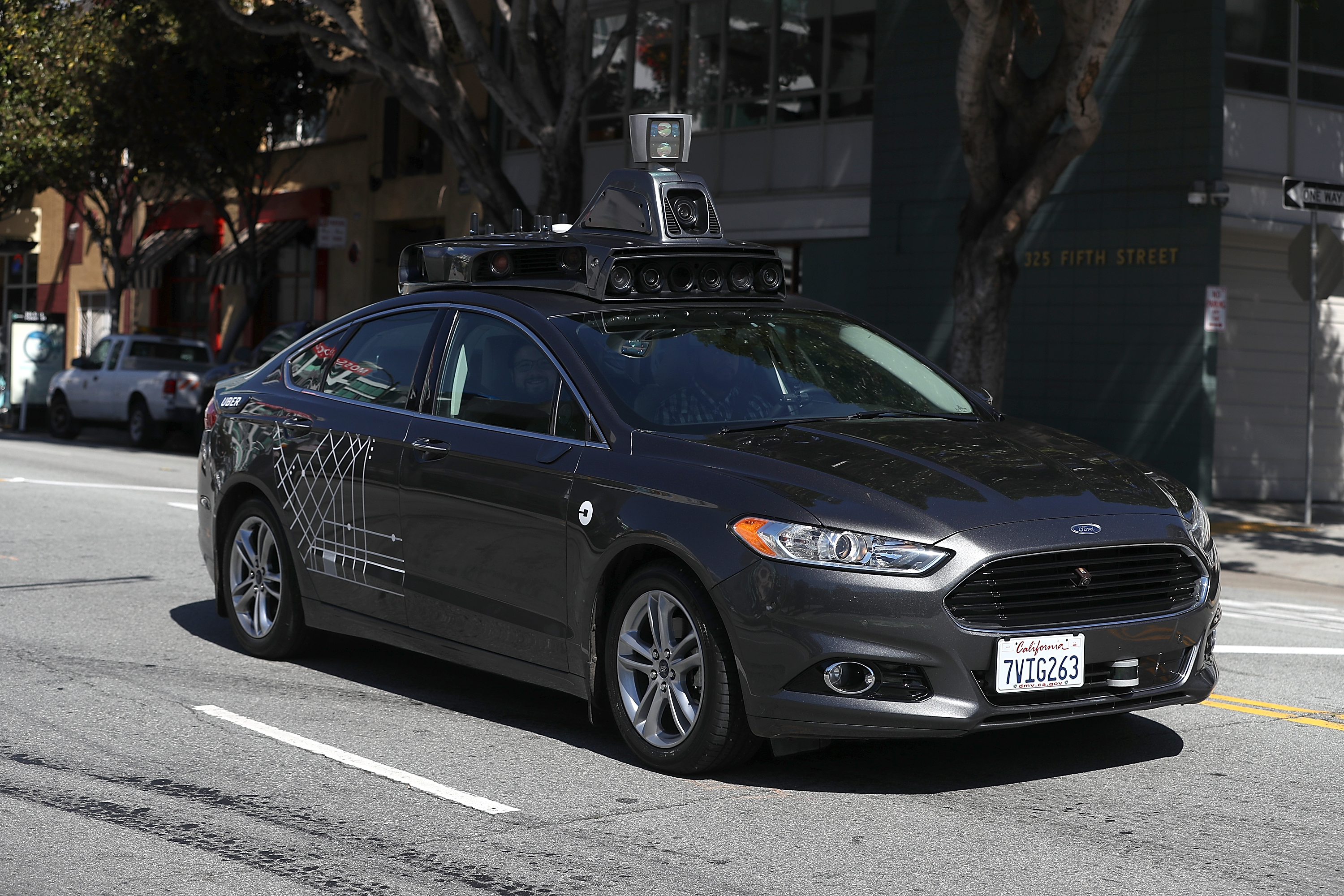 California now allows driverless cars without a human behind the
