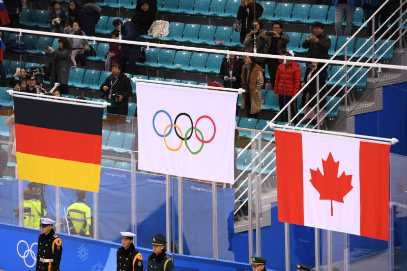 "Russia couldn't compete under its own flag at PyeongChang, and US officials suggest, they used a ""false flag"" malware attack to disrupt them."