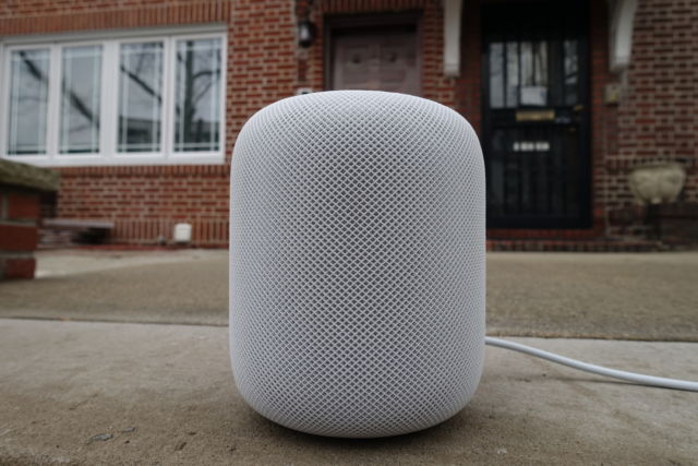 The Apple HomePod isn't the smartest smart speaker, but it sounds great for its size.