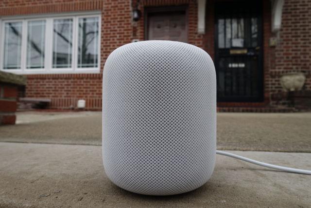 Apple's HomePod speaker.