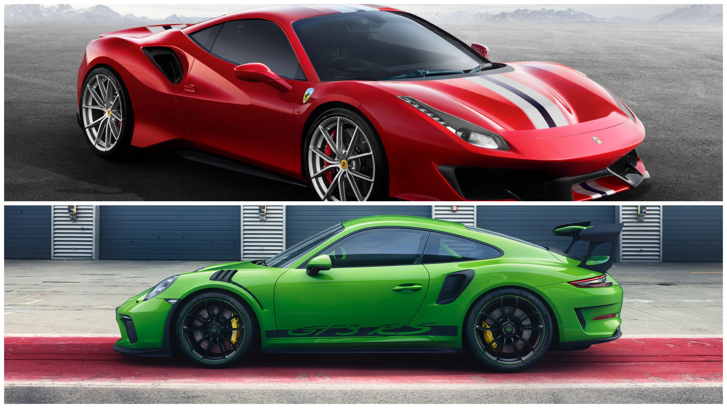 Ferrari And Porsche Announce New Cars For The Wealthy Track Addict