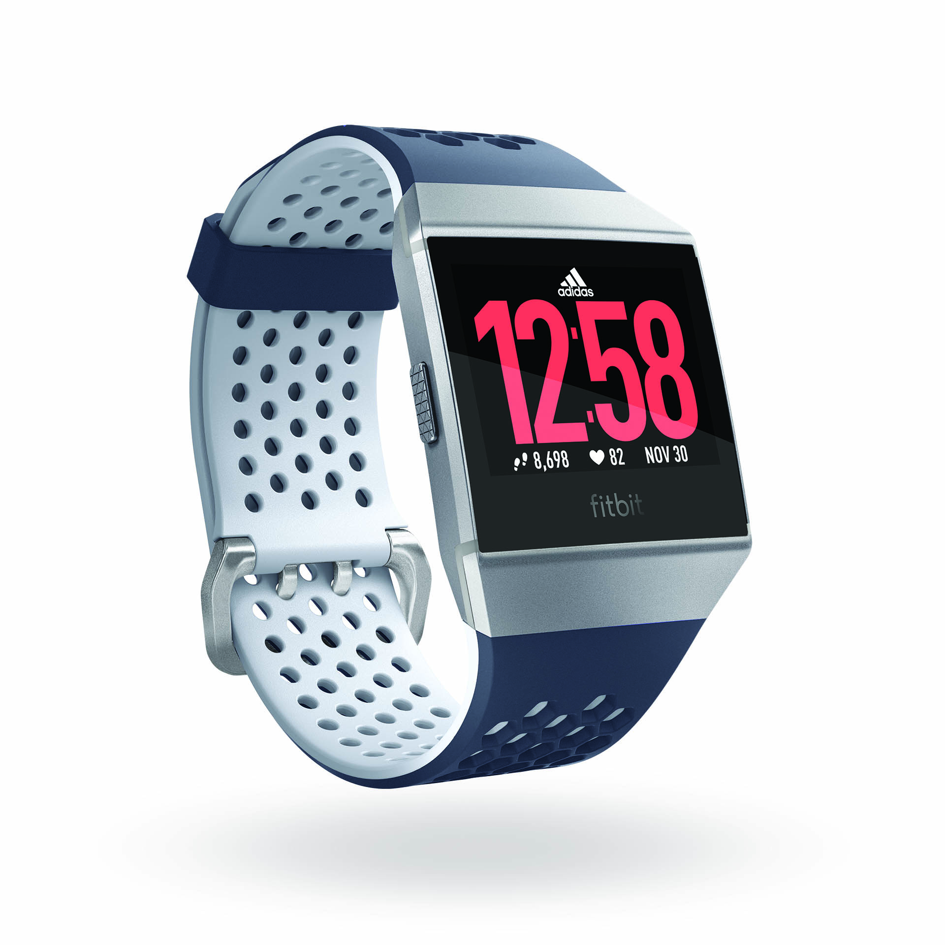 3212b96192b The Ionic Adidas Edition is Fitbit's answer to the Apple Watch Nike+ ...