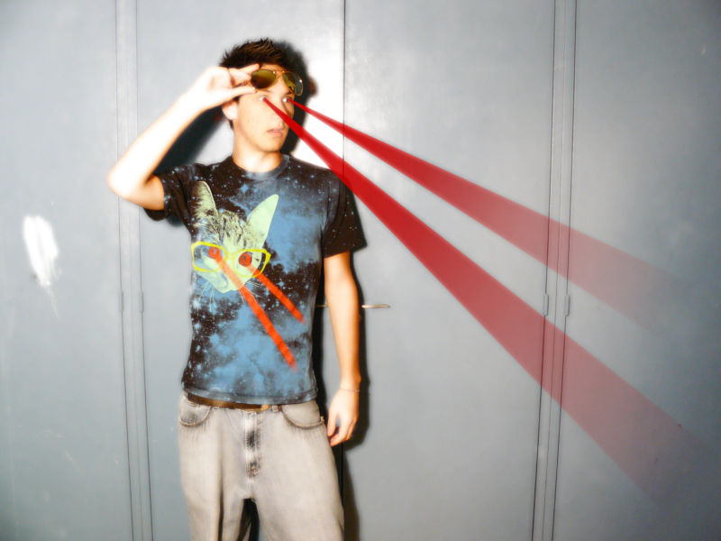 This article is about lasers (not necessarily the one pictured).