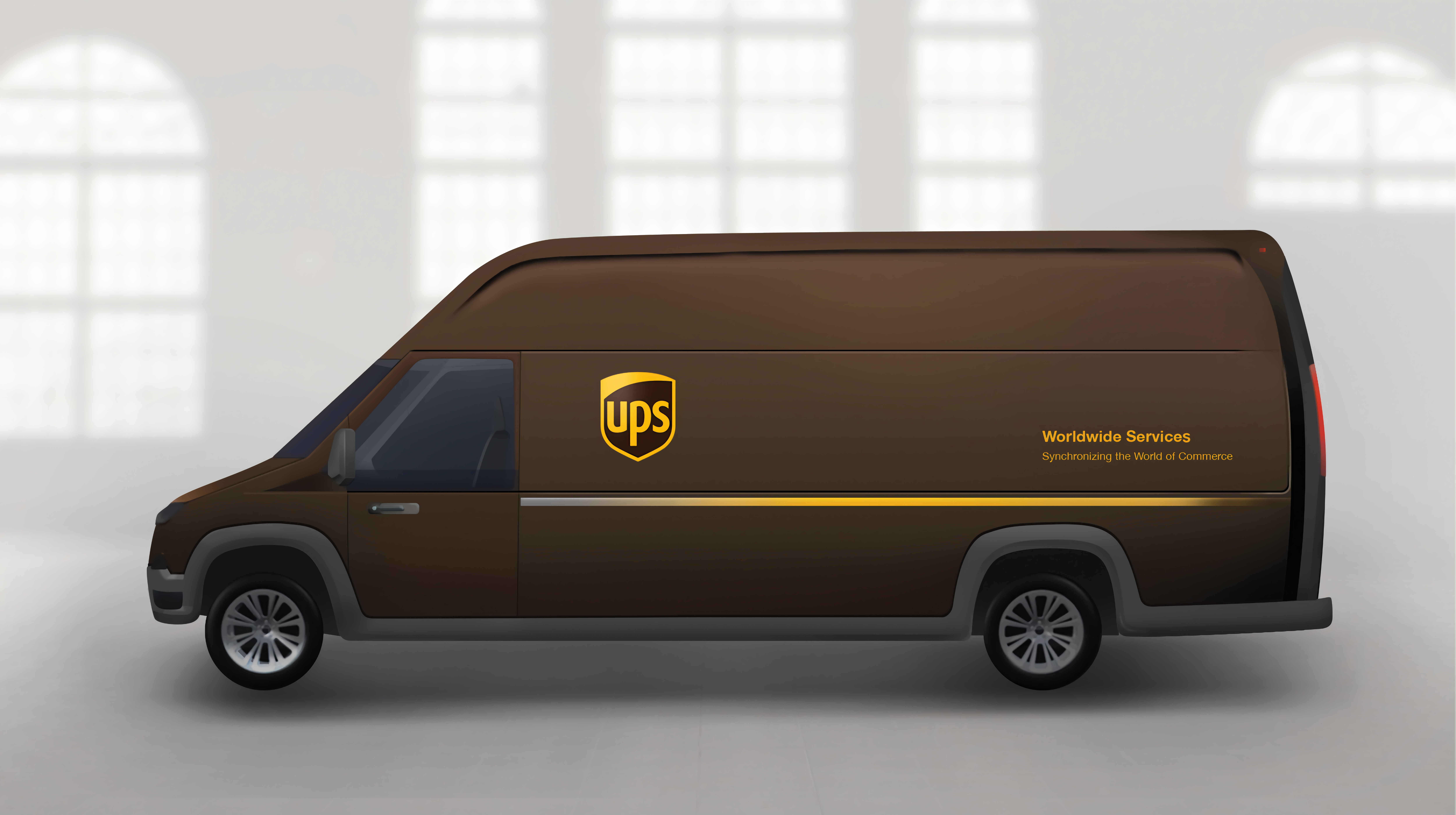 100 mile range electric delivery van could beat sel in lifetime