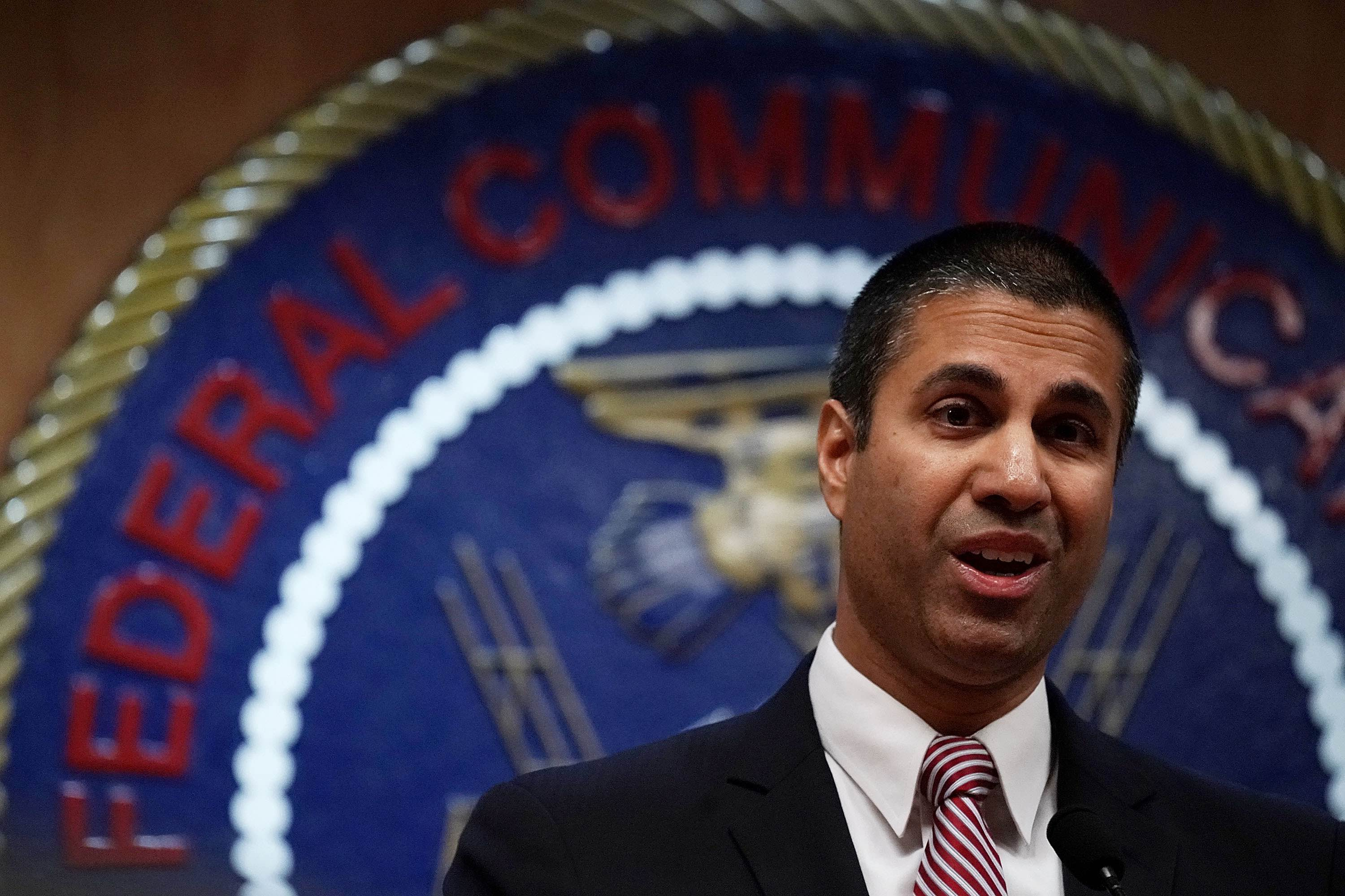 "Net Neutrality Vote >> Here's Ajit Pai's ""proof"" that killing net neutrality created more broadband 