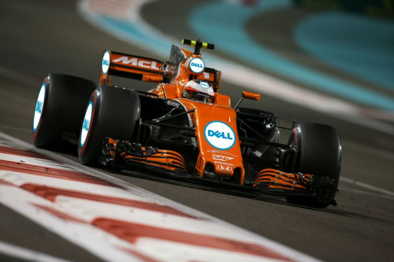 Fernando, you're getting a Dell: McLaren gets a new sponsor in F1