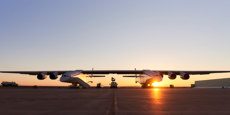 The world's largest airplane may launch a new space shuttle into orbit