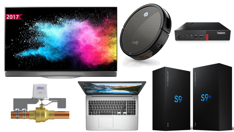 Best tech deals: Samsung Galaxy S9 pre-orders and more | Ars
