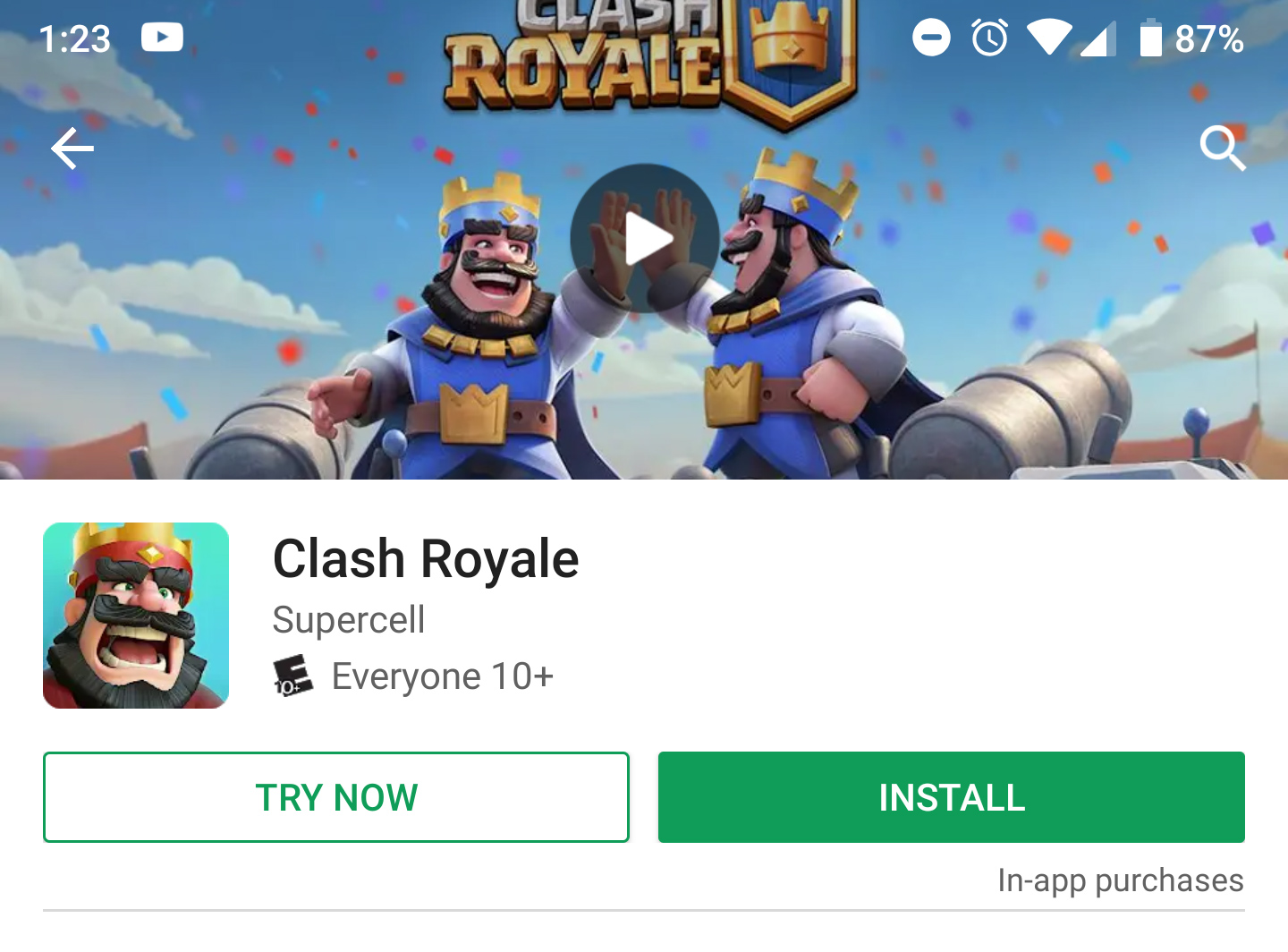 clash royale for pc no download
