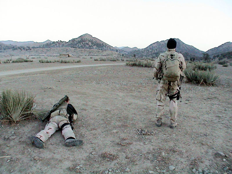 US Navy SEALs conducting special reconnaissance of Al Qaeda operations in Afghanistan in 2002. JSOC added malware to Special Operations units' bag of tricks, and it may have been exposed by Kaspersky.