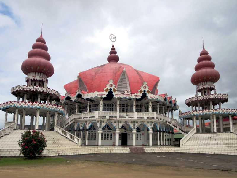 One indication of Suriname's complicated past is its large Hindu population.