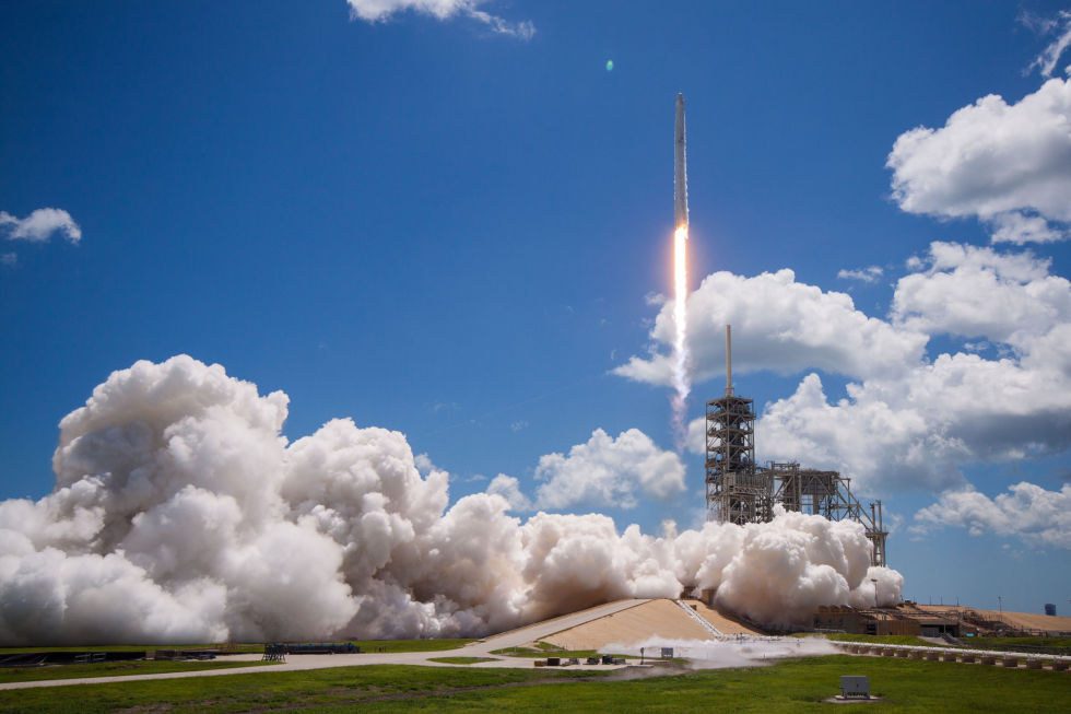 The booster to be used as early as Monday for CRS-14 flew last August during the CRS-12 mission.