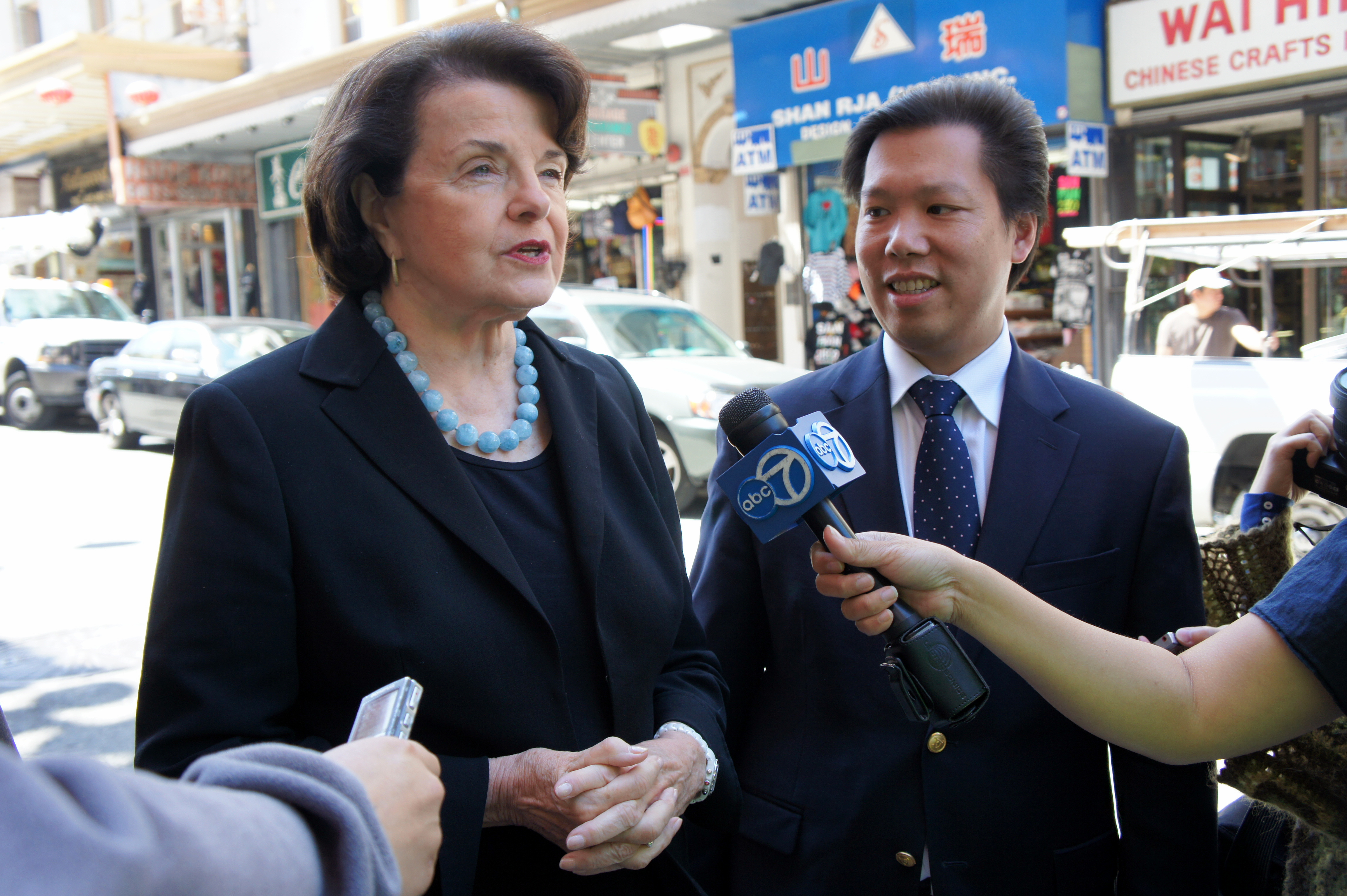 Sen. Dianne Feinstein (D-CA), left, has emerged as a leading skeptic of the AV START Act.