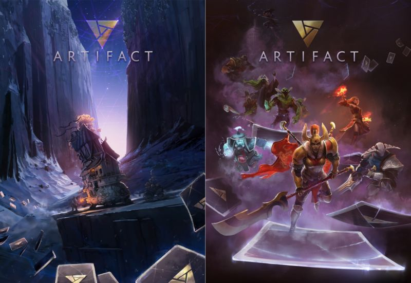 valve s making games again hands on with artifact s digital trading