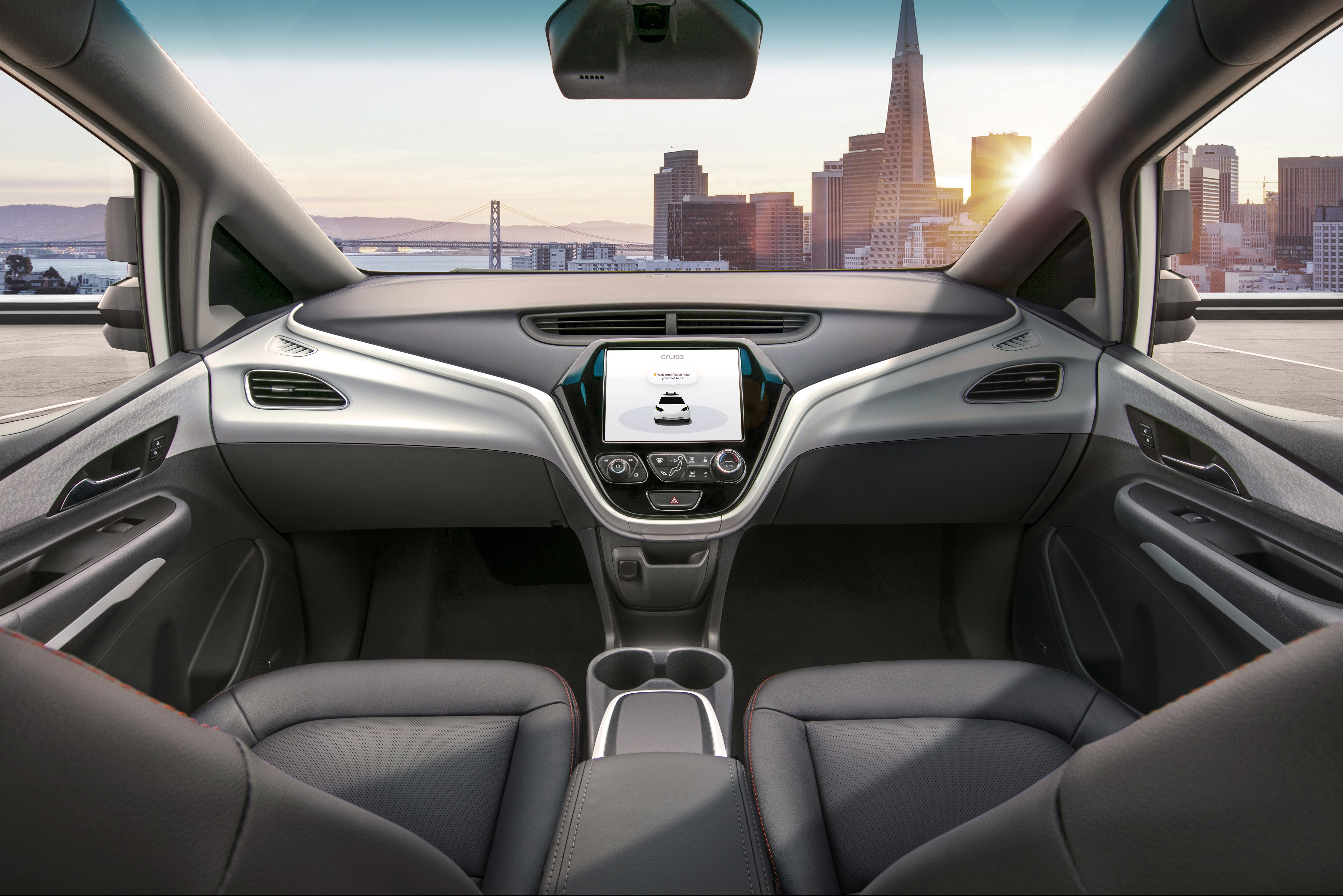 GM hopes to start manufacturing a car with no steering wheel, gas, or brake pedals in 2019.