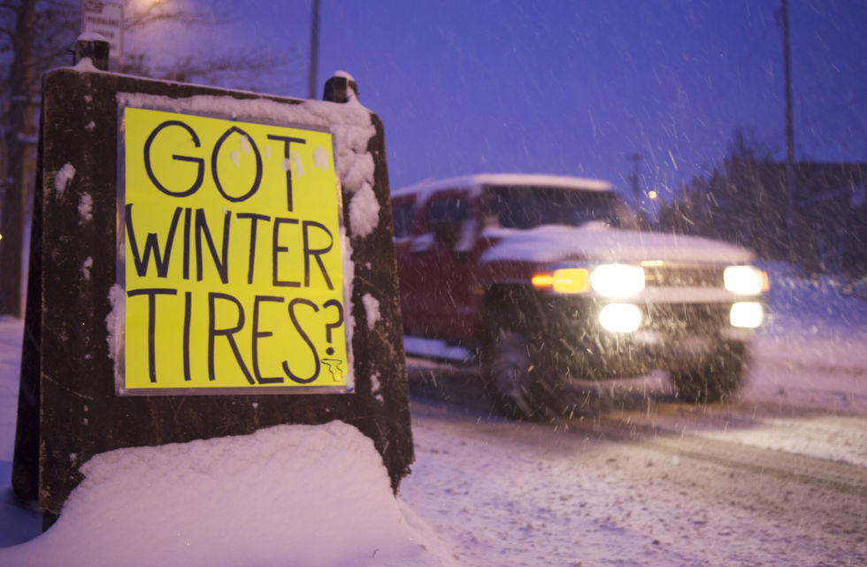Winter tires are important and not just when it's snowy.