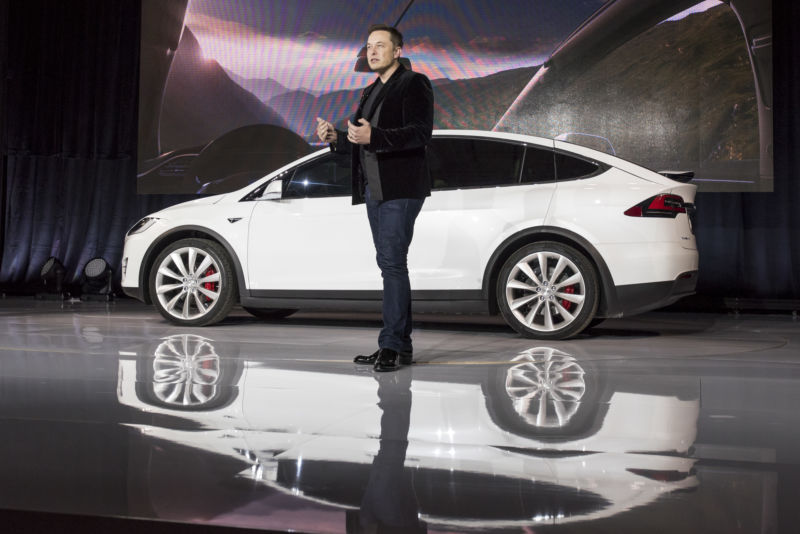 Elon Musk unveiled the <a href=