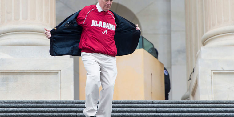 Alabama lawmaker seems desperate to keep rocket...