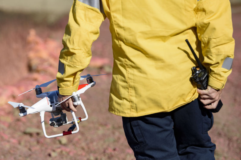 During the recent California wild fires, there were several reports of drones interfering with firefighting attempts.