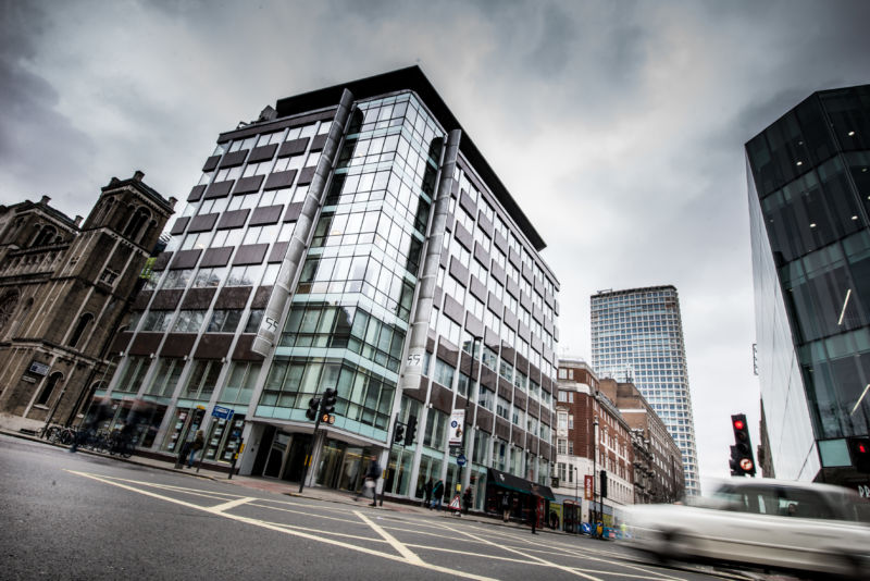 The offices of Cambridge Analytica in central London. Facebook expressed outrage over the misuse of its data as Cambridge Analytica, the British firm at the center of a major scandal rocking the social media giant, suspended its chief executive.