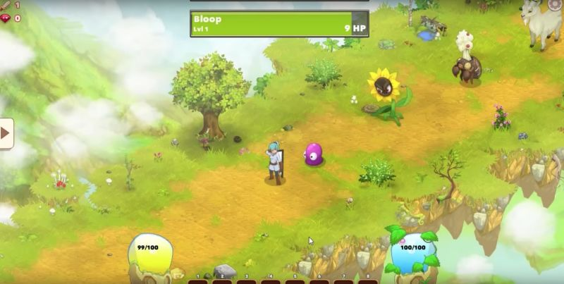 This is a screen grab from the forthcoming <em>Clicker Heroes 2</em>.