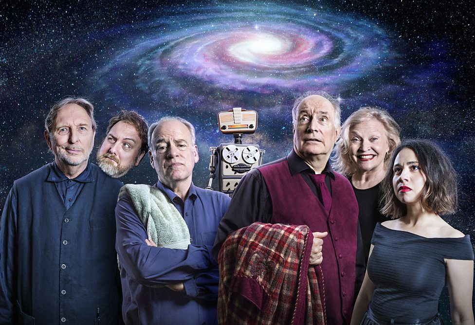 the hitchhikers guide to the galaxy The hitchhiker's guide to the galaxy has been a radio show, tv show, stage play , comic book and film, and is and a work of utter comic genius from doug.