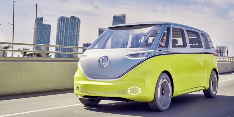 photo image Volkswagen bets big on electric with $25 billion battery bonanza