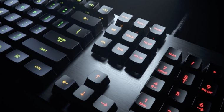 Logitech's successor to the G413 mechanical keyboard doubles