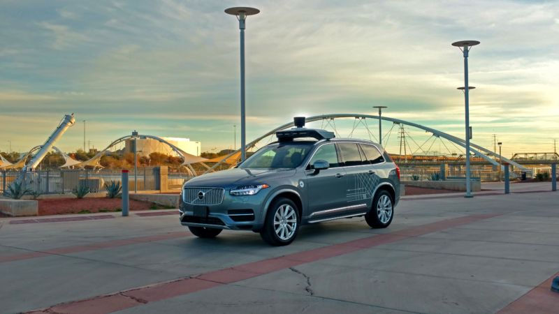 Uber told to stop testing driverless tech in Arizona