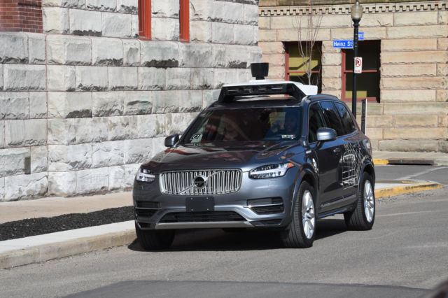 Uber's current self-driving cars are based on the Volvo XC90.