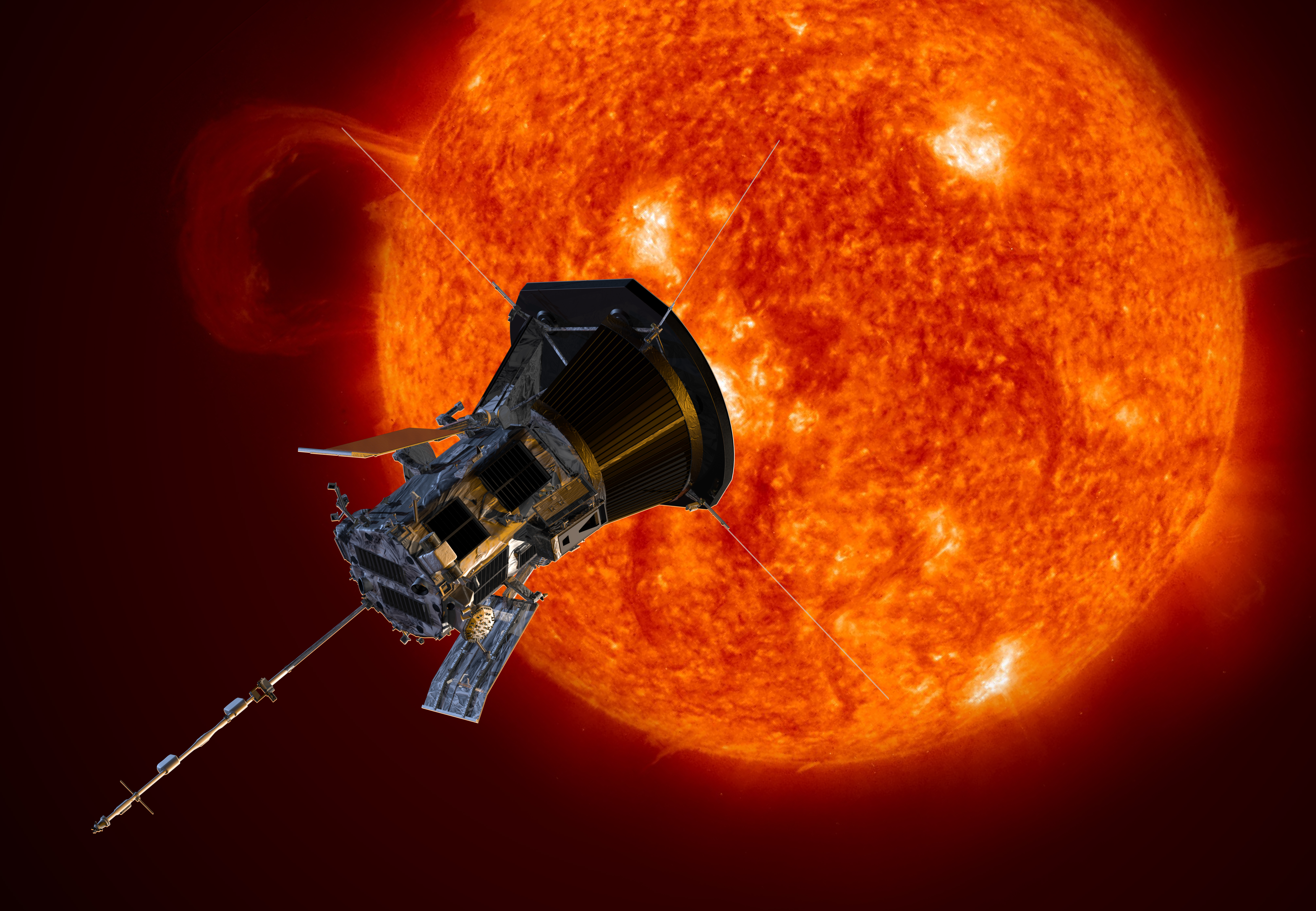 this spacecraft will get closer to the sun than any before it