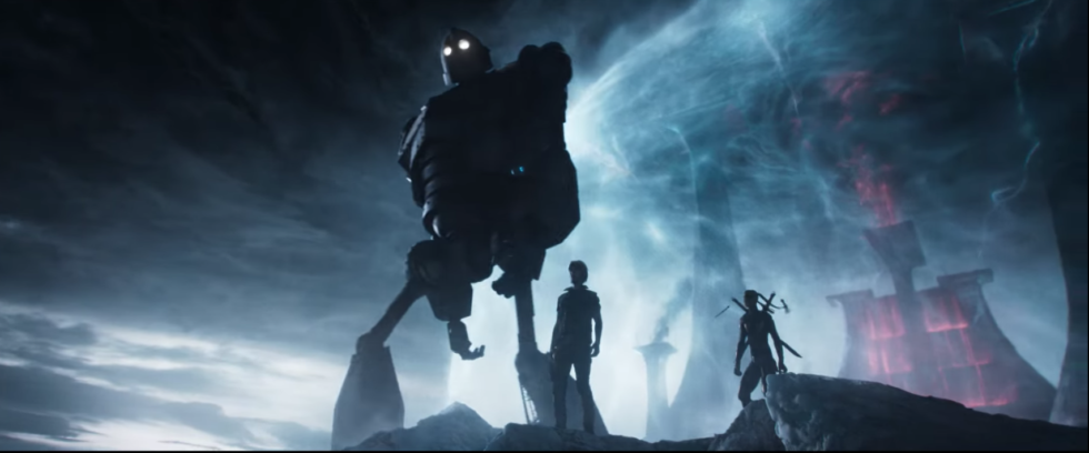 The Iron Giant appears in all his mega-robotic glory but with none of his film's emotional impact. That says a lot about how <em>Ready Player One</em> wields its nostalgic references.