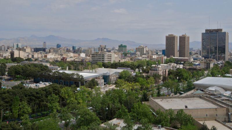 Tehran, the capital city of Iran.