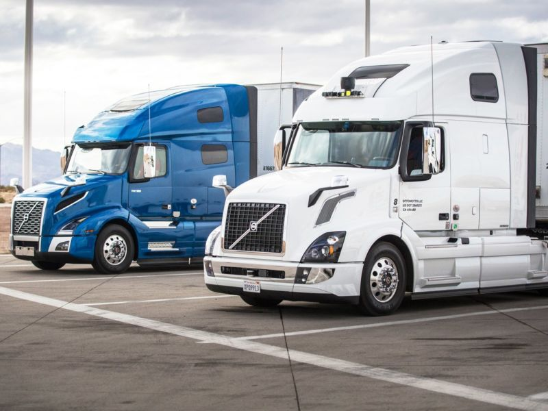 Uber Self-Driving Trucks Now Hauling Freight in Arizona
