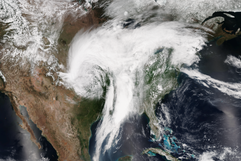 Warm, moist air flowing north from the Gulf of Mexico may dominate the Great Plains' response to climate change.