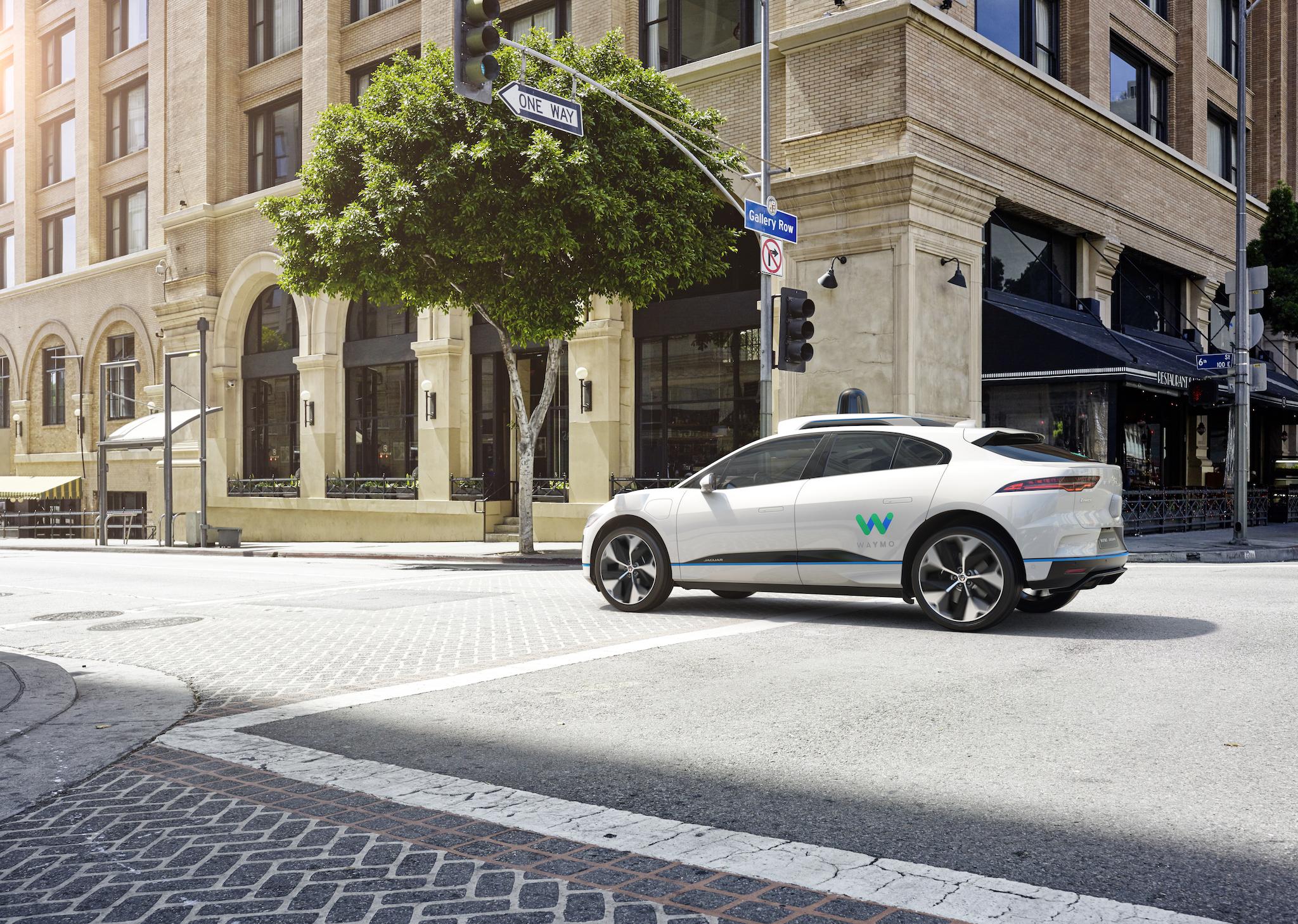Waymo's forthcoming self-driving Jaguar I-PACE.