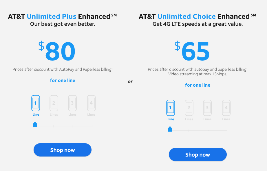 AT&T has good and bad news for users of its limit-ridden