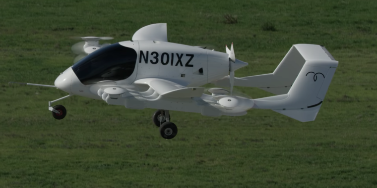 photo image Flying taxis backed by Larry Page could come to New Zealand in 3 years