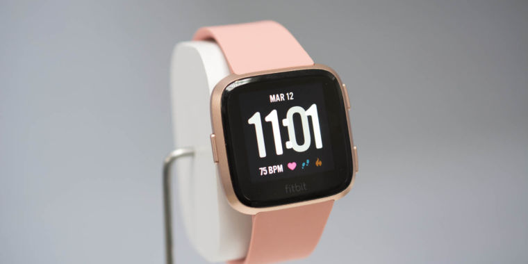 "photo image The $199 Fitbit Versa is the company's new ""mass-appeal"" smartwatch"