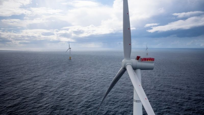 Scotland's floating wind farm is showing how powerful offshore wind can be