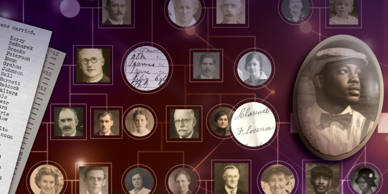 Giant human family tree traces how people moved and married over 300 years