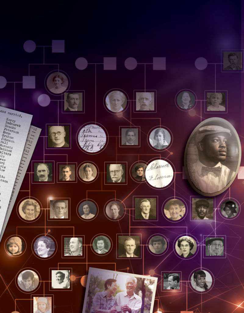 13 million people tracked over 300 years to build massive human family tree