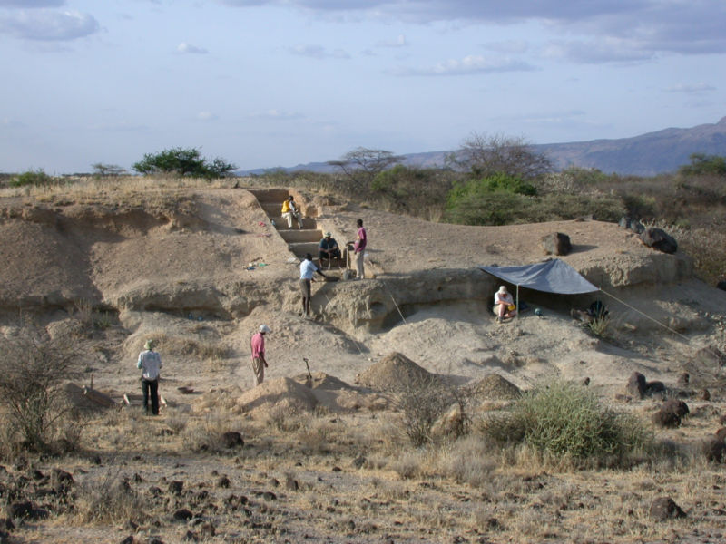 Images from the prehistoric site of Olorgesailie, Kenya.