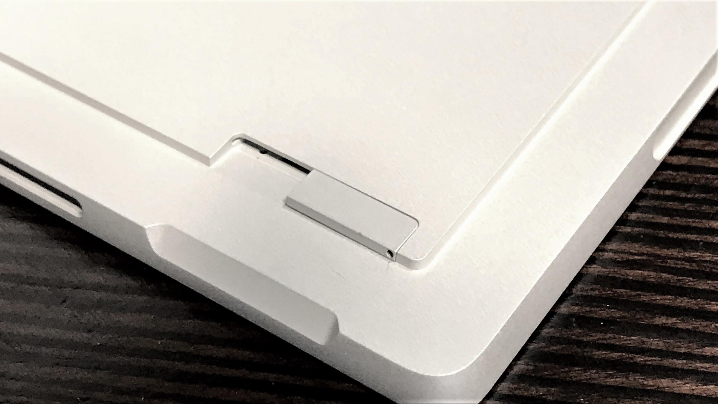 The Surface Pro with LTE's SIM tray is just next to the microSD slot.