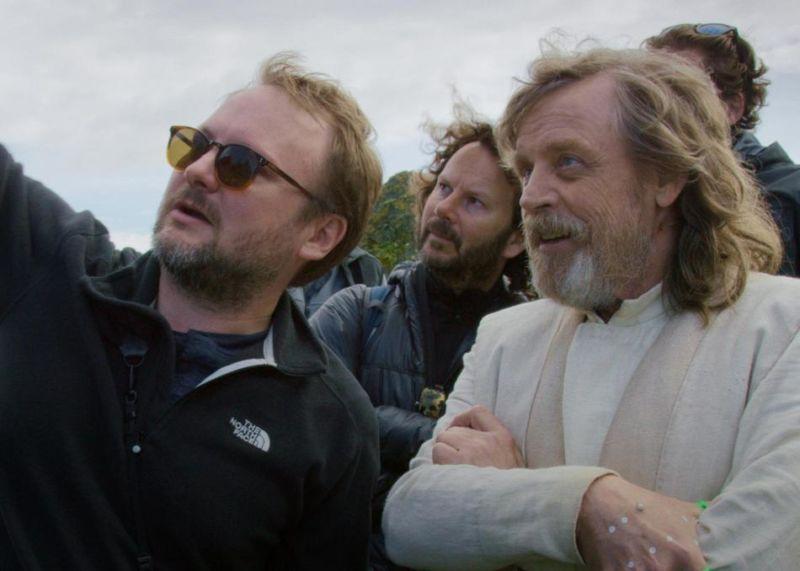 Three of the main characters in <em>The Director and The Jedi</em>.