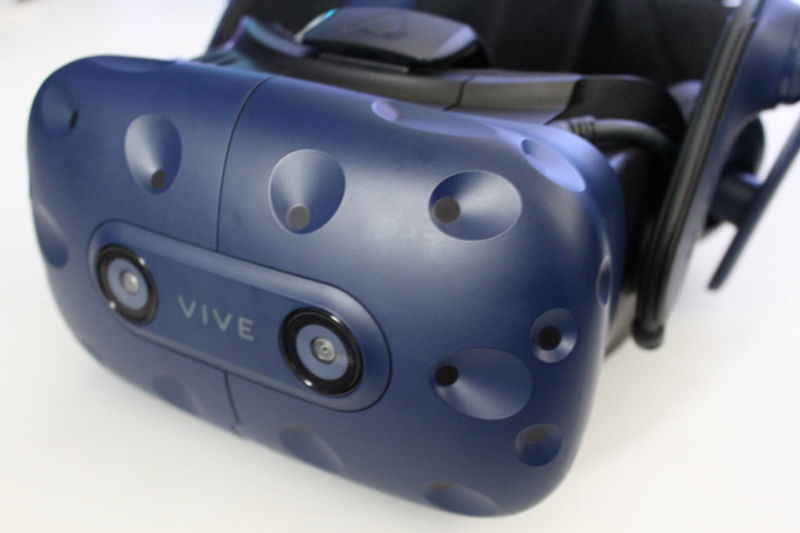 SteamVR's new resolution scaling update will help maximize GPU performance on the high-end HTC Vive Pro.